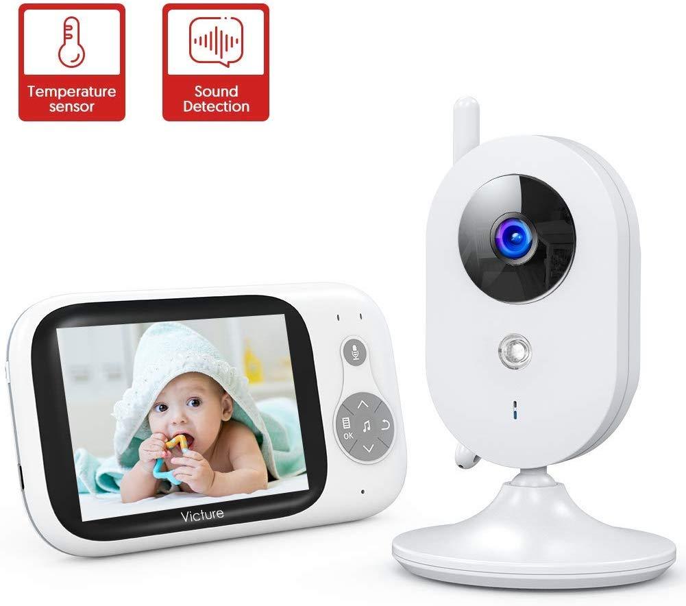 Victure Babyphone Caméra Moniteur 3.2 LCD